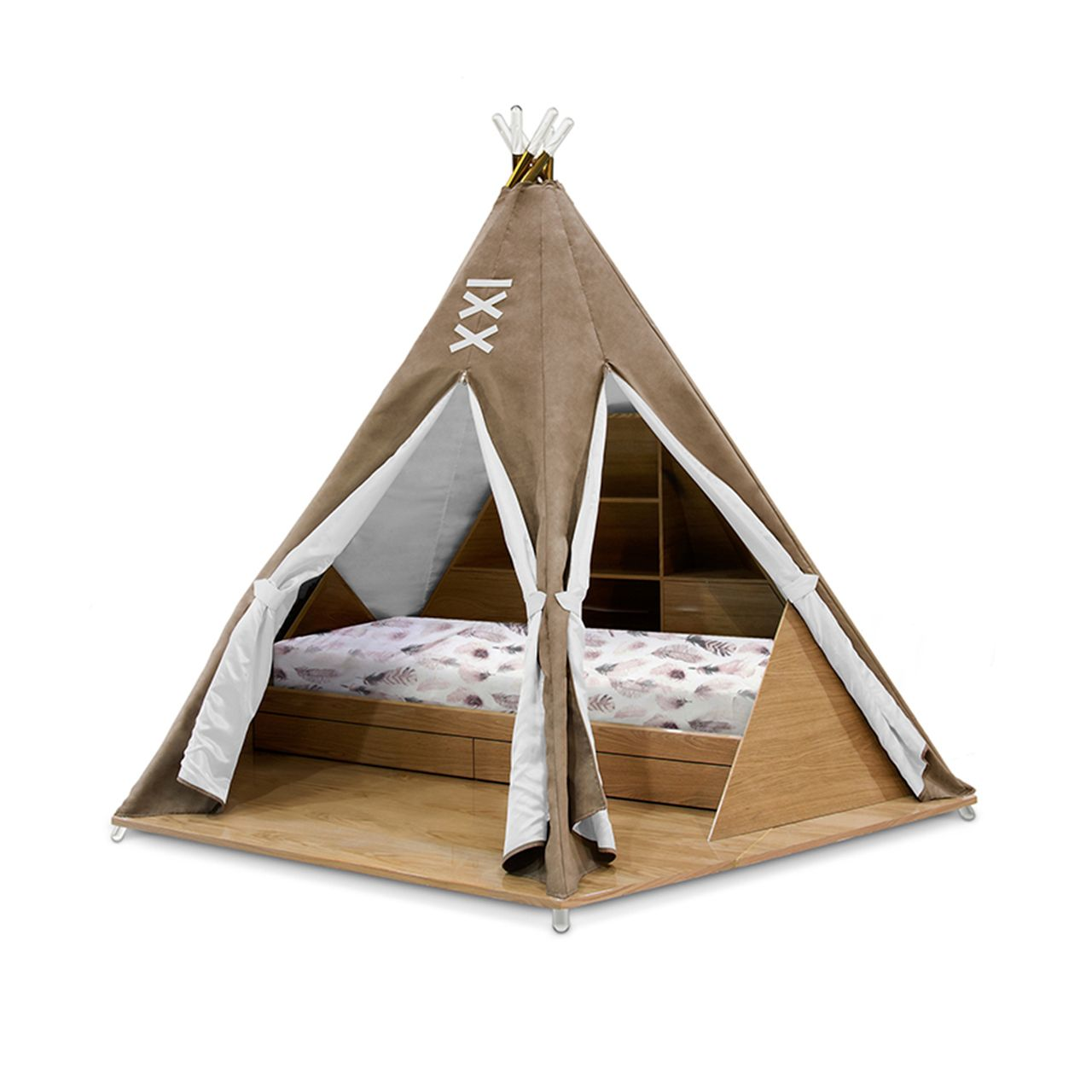 TEEPEE ROOM BED